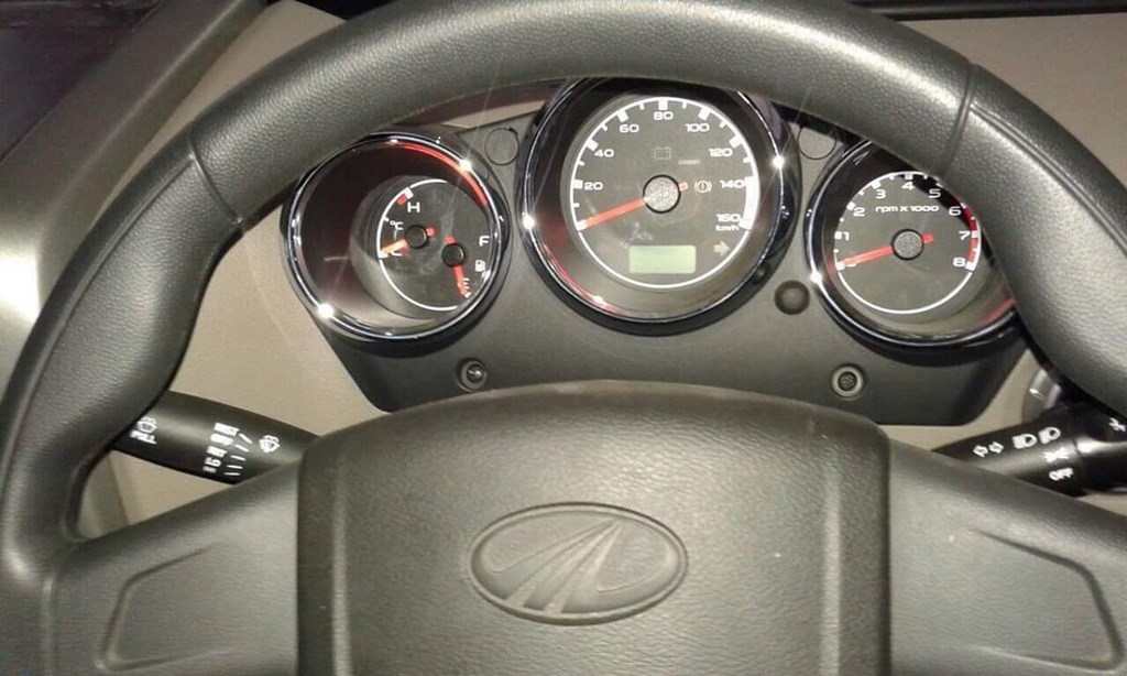 2015 Mahindra Thar Instrument Cluster
