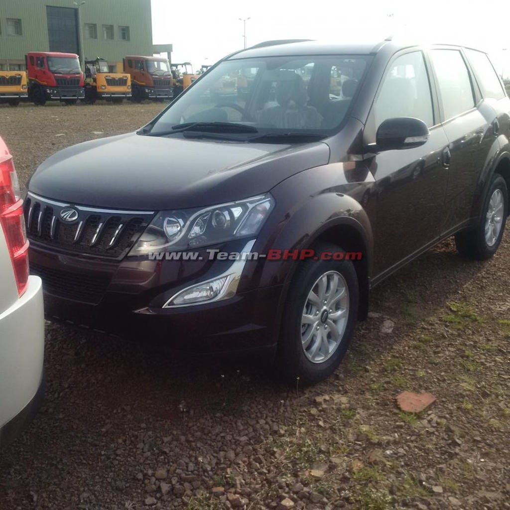 2015 Mahindra XUV500 Facelift Unidsguised