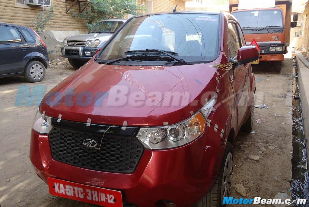 2015 Mahindra e2o AC Tests
