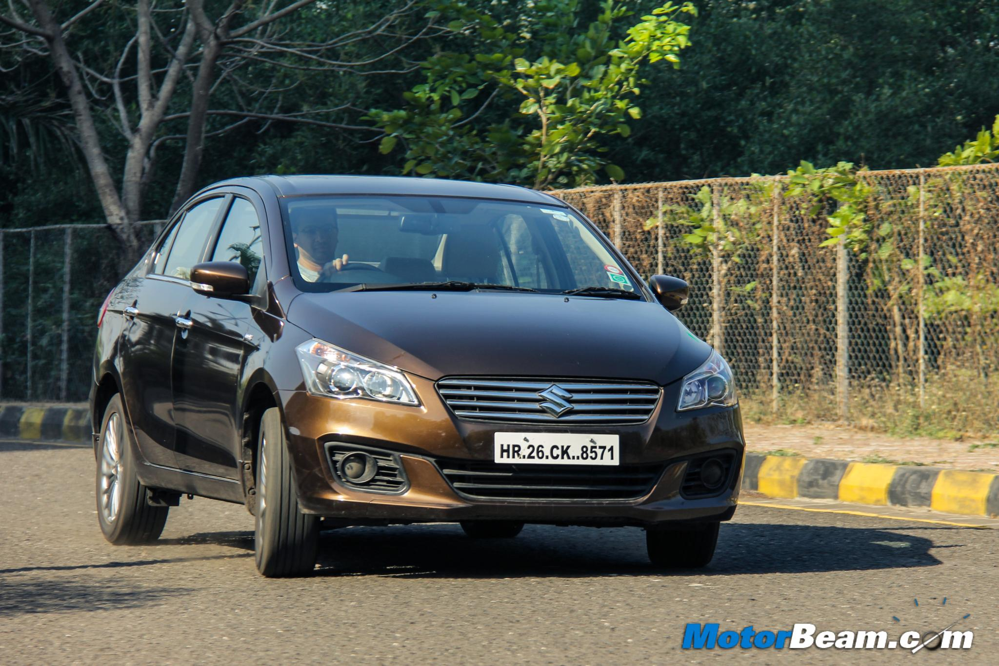 2015 Maruti Ciaz Road Test
