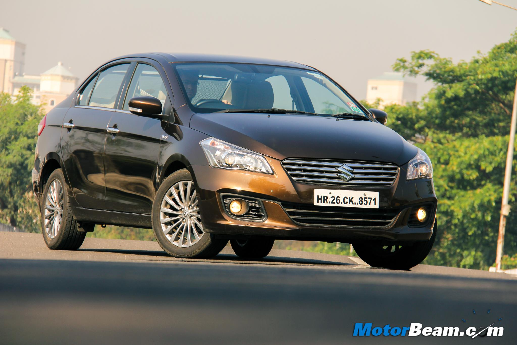 2015 Maruti Ciaz Test Drive Review