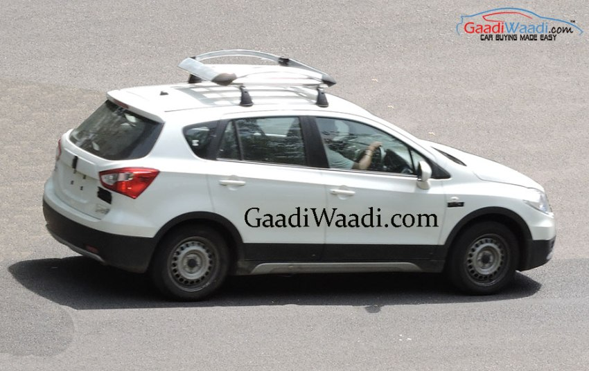 2015 Maruti S-Cross Base Variant Spotted