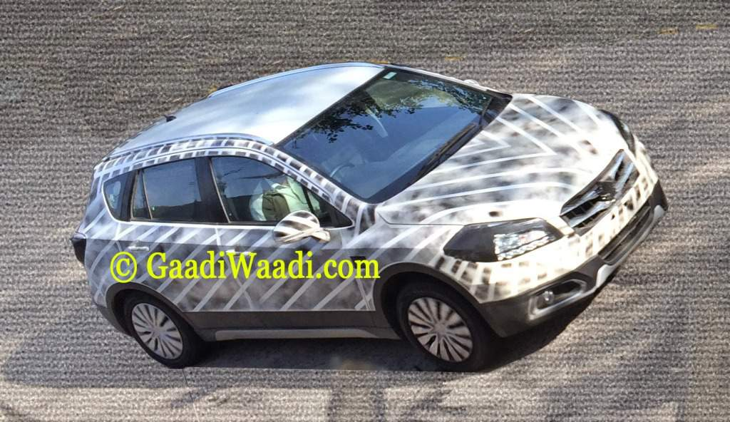 2015 Maruti S-Cross Spy Shot Features