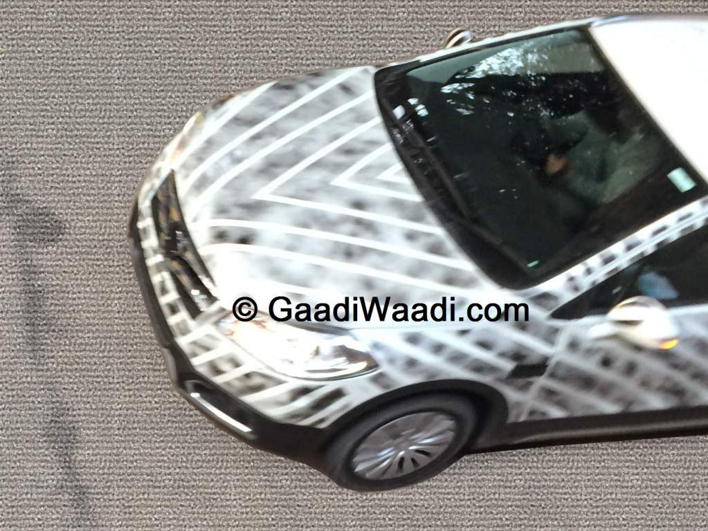 2015 Maruti S-Cross Spy Shot Front Grille