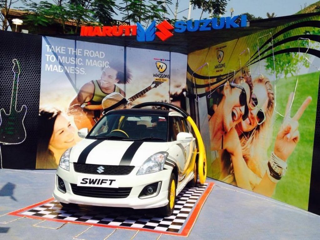 2015 Maruti Swift Facelift Special Edition Windsong Festival