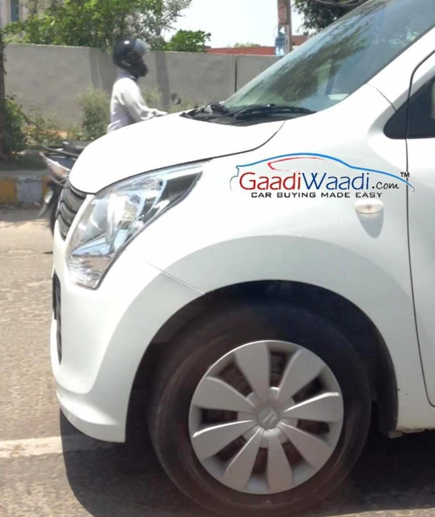 2015 Maruti Wagon R Facelift Front Side