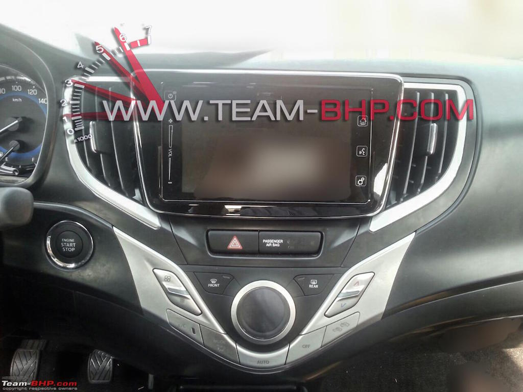 2015 Maruti YRA Centre Console Revealed
