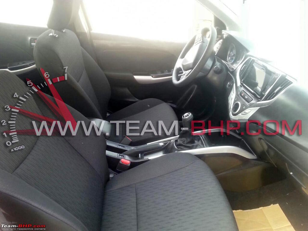 2015 Maruti YRA Seats Revealed