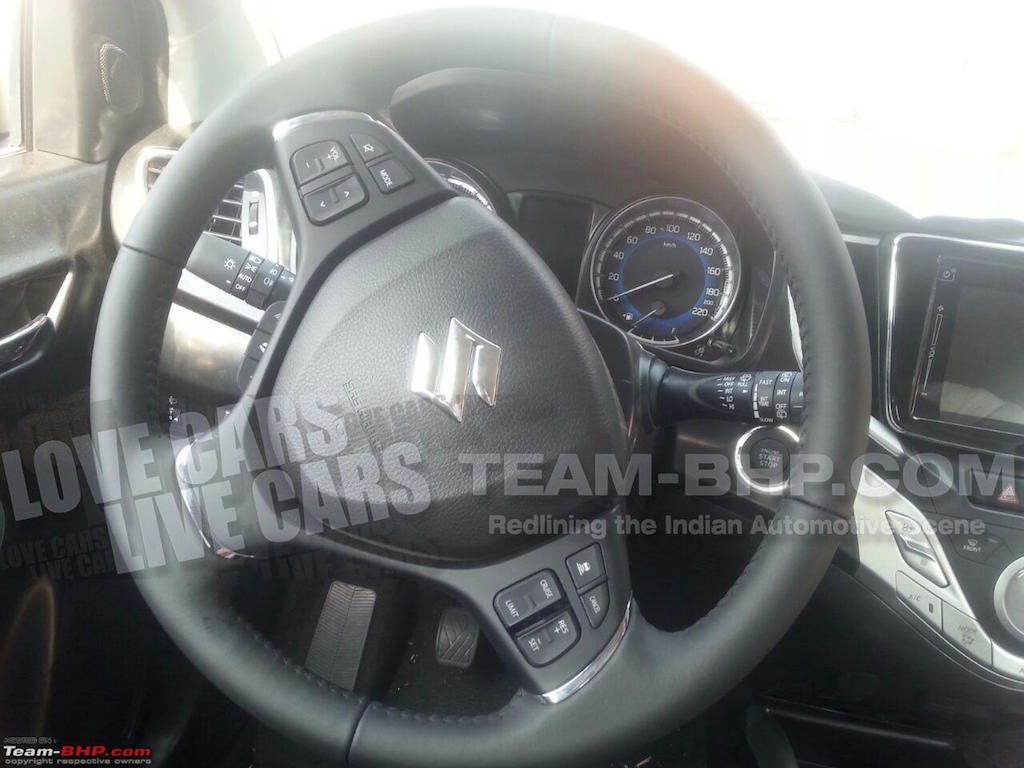 2015 Maruti YRA Steering Wheel Spied