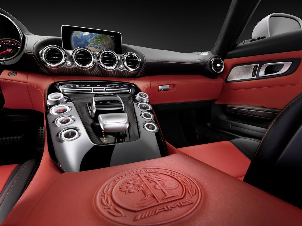 2015 Mercedes AMG GT Dashboard