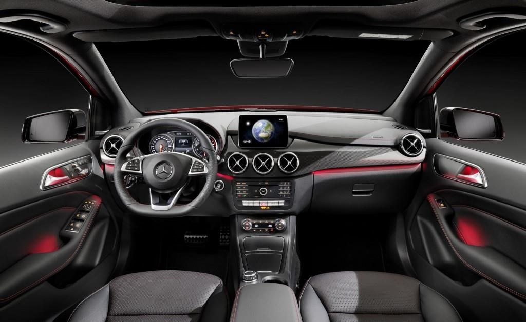 2015 Mercedes B-Class Facelift Interior