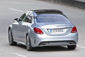 2015 Mercedes-Benz C-Class Saloon Rear