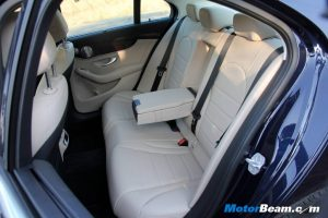 2015 Mercedes-C-Class Rear Seats