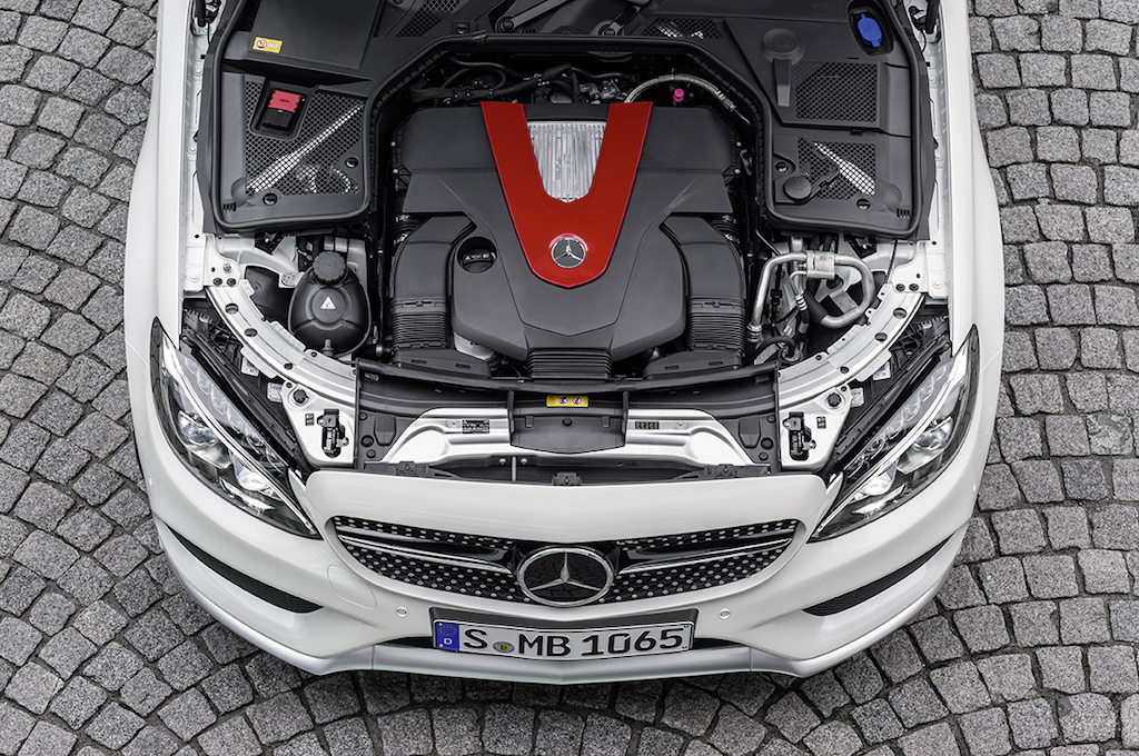 2015 Mercedes C450 AMG Sport Engine