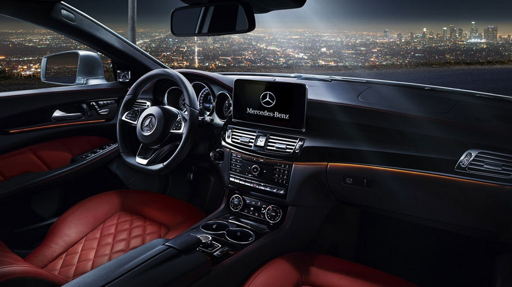 The cls also receives changes to the interiors in line with other