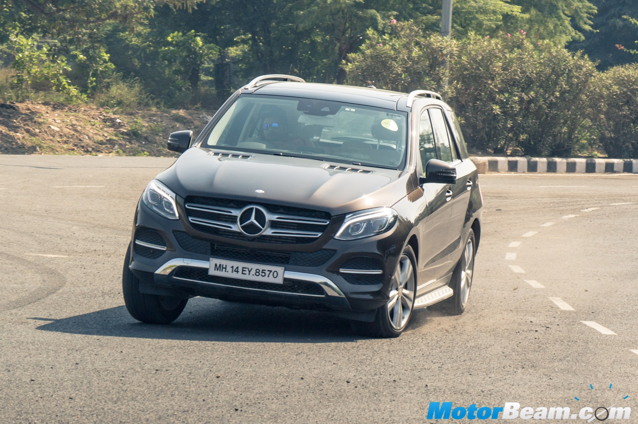 2015 Mercedes GLE Test Drive