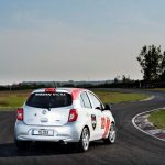 2015 Nissan Micra Cup Rear