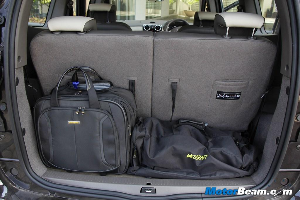 2015 Renault Lodgy Boot Space