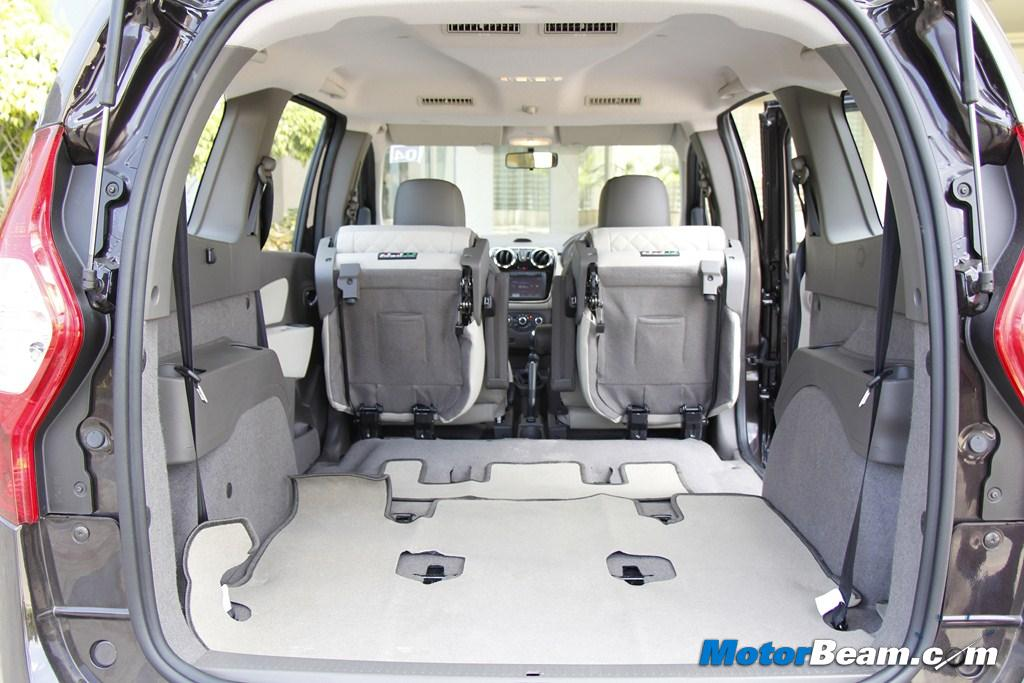 2015 Renault Lodgy Luggage Space
