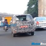 2015 Renault Lodgy Spied