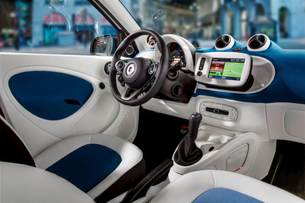 2015 Smart ForTwo Dashboard