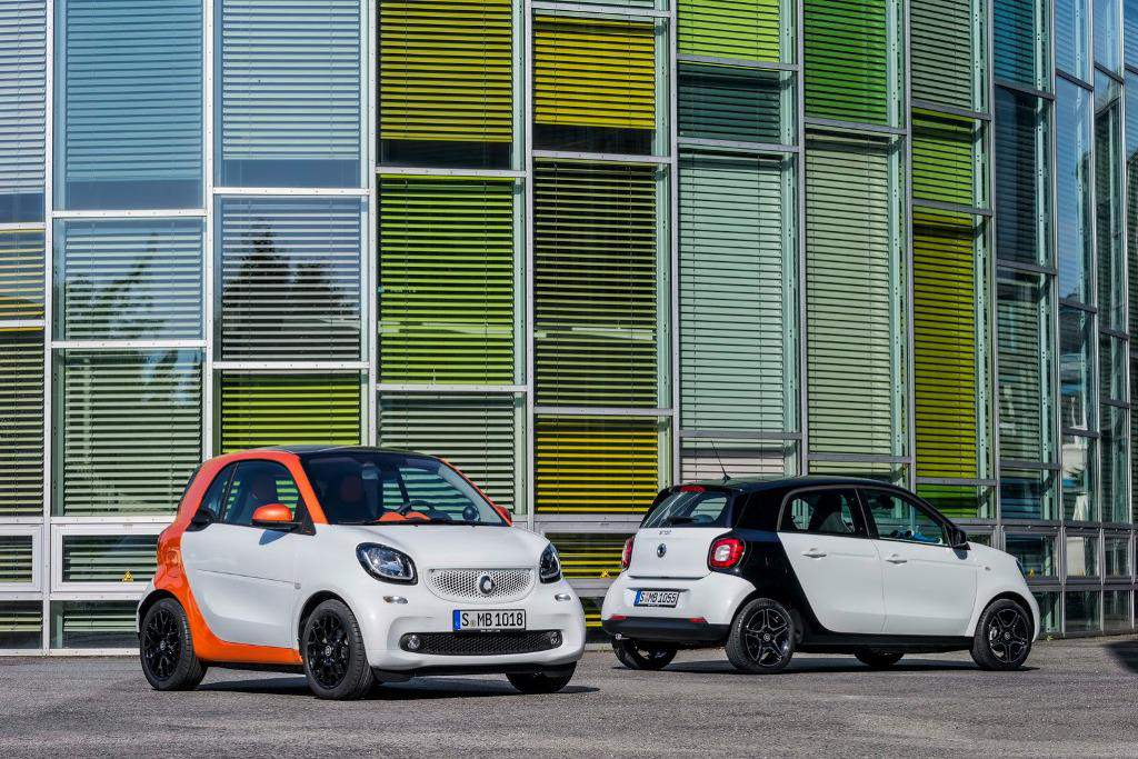 2015 Smart ForTwo ForFour