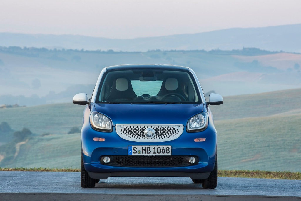 2015 Smart ForTwo Front