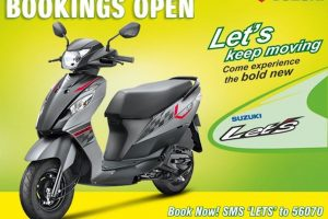 2015 Suzuki Let's Dual Tone Colours India
