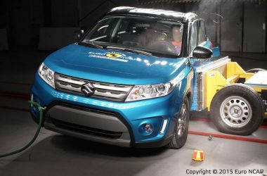 2015 Suzuki Vitara Euro NCAP Crash Test