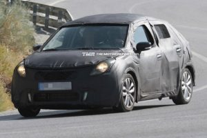 2015 Suzuki YRA Premium Hatch Spy Shot