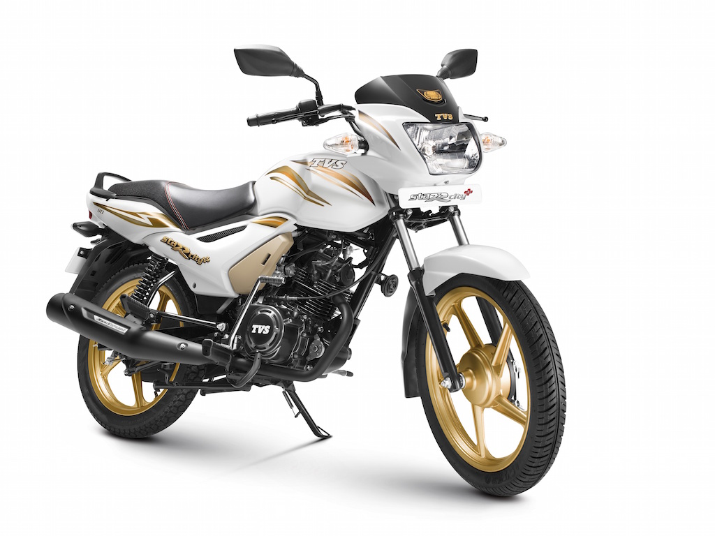 2015 TVS Star City+ Gold Edition