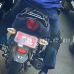 2015 TVS Star City+ Spy Shot