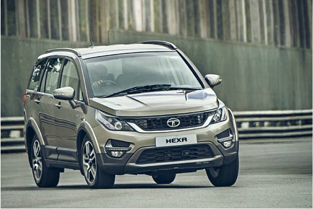 2015 Tata Hexa Concept Features