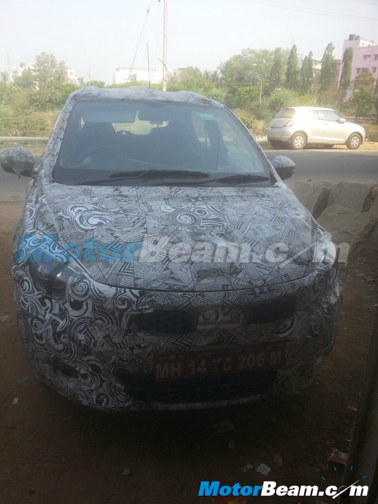 2015 Tata Kite Glade Spy Shot