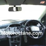 2015 Tata Kite Interior Spy Shot