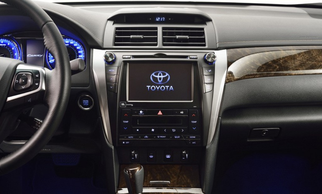 2015 Toyota Camry Facelift Centre Console