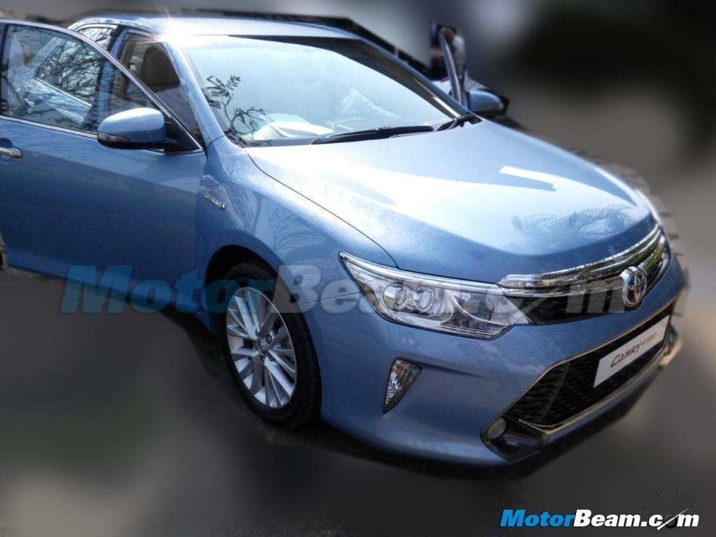 2015 Toyota Camry Facelift Front Undisguised