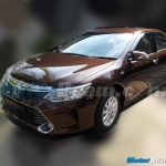 2015 Toyota Camry Facelift India Spotted