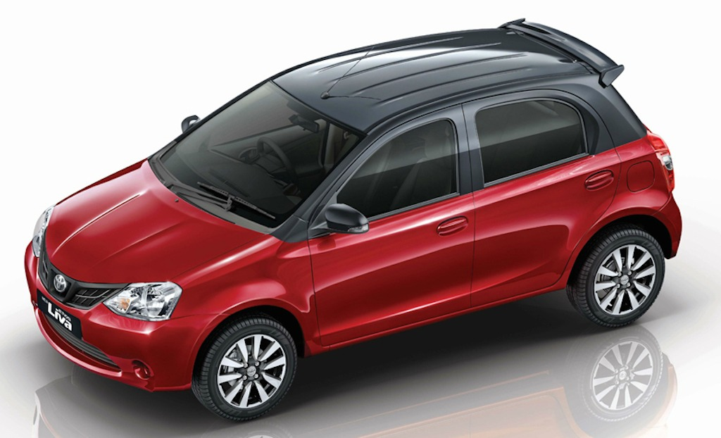 2015 Toyota Liva Red Special Edition