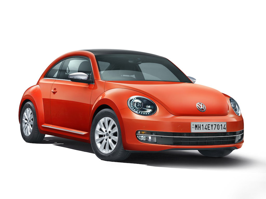 2015 Volkswagen Beetle India Price