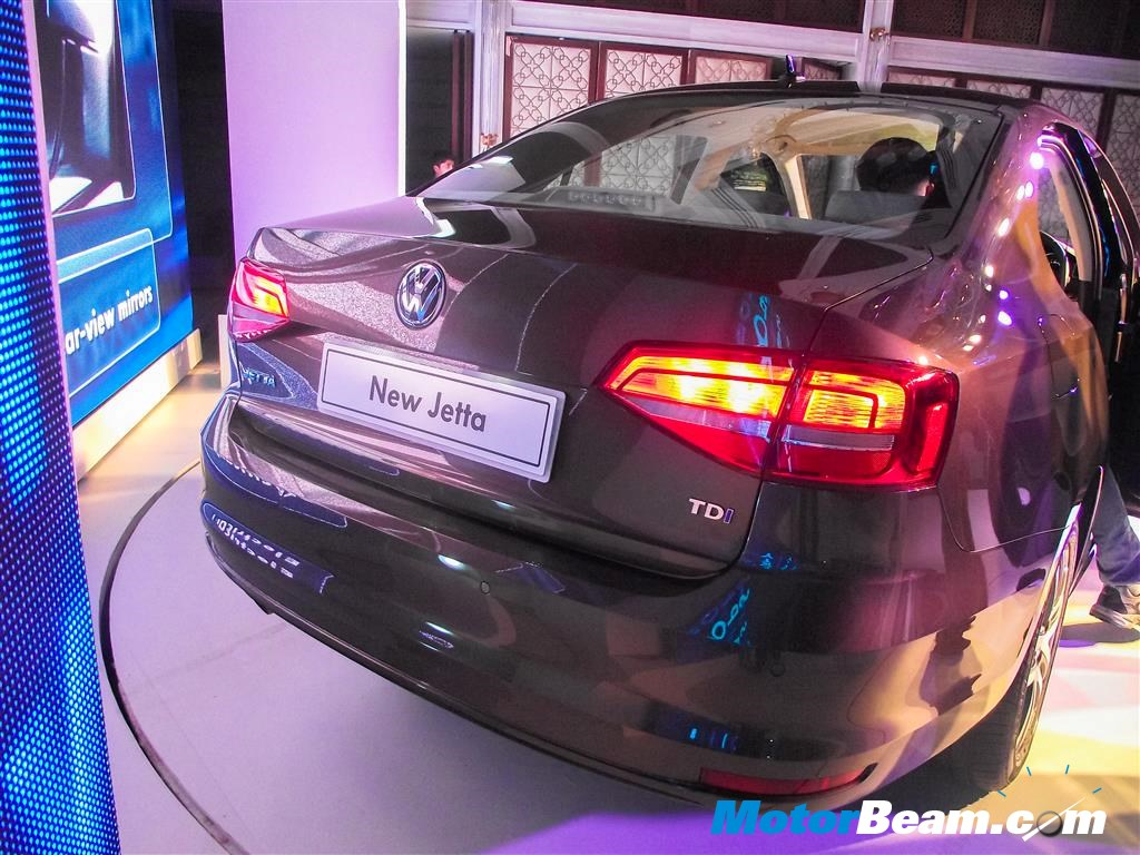 2015 Volkswagen Jetta Launch Rear