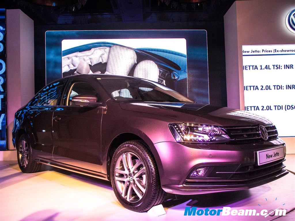 2015 Volkswagen Jetta Launched India