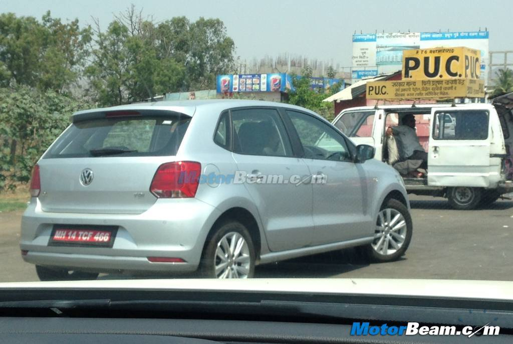 2015 Volkswagen Polo Facelift India