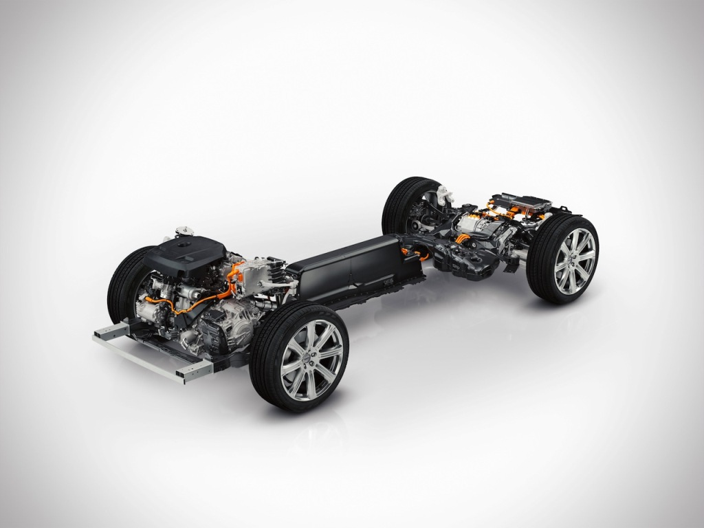 2015 Volvo XC90 Chassis