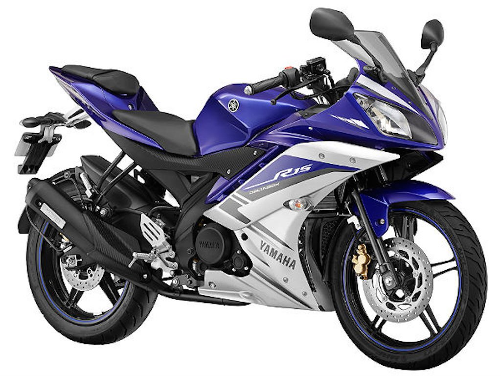 2015 Yamaha R15 GP Blue Colours