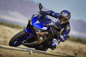2015 Yamaha R3 Action