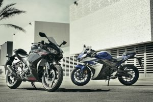 2015 Yamaha YZF-R3 Prices India