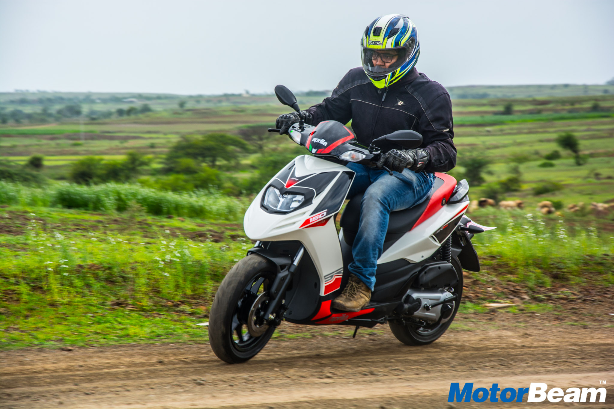2016 Aprilia SR 150 Test Ride Review