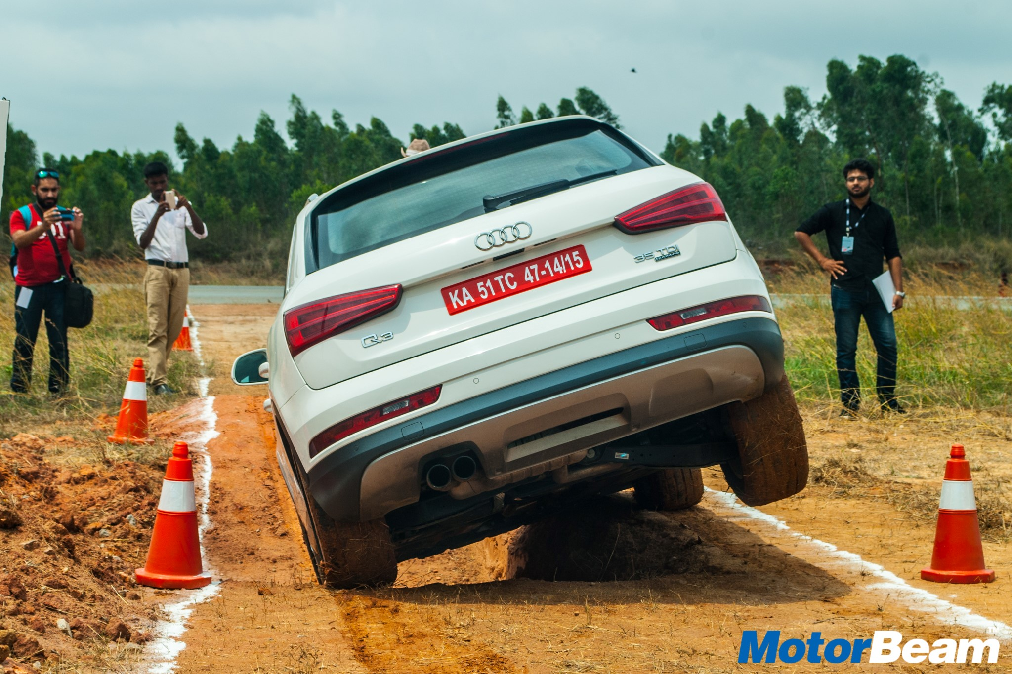 2016 Audi Q3 Offroad Experience