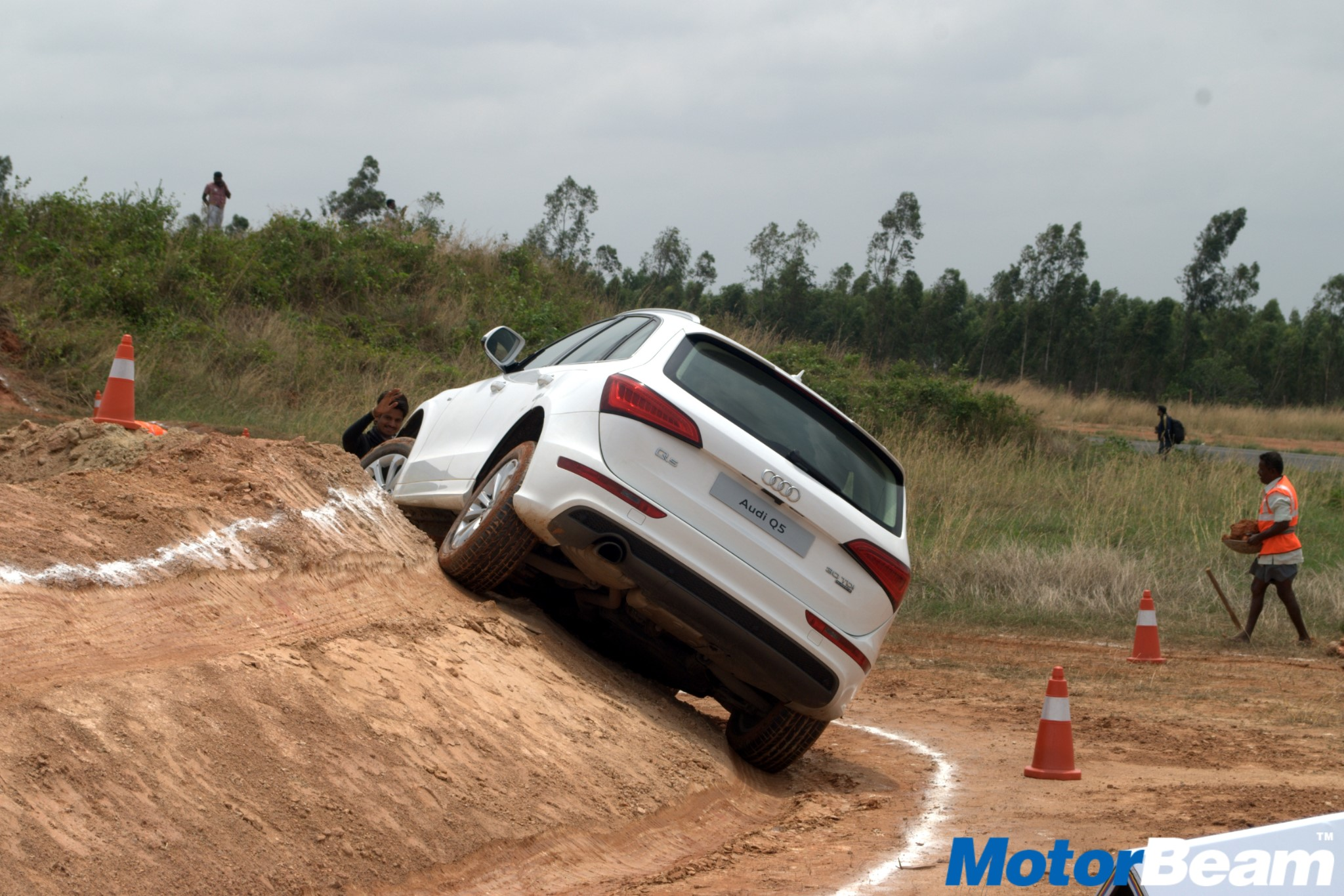 2016 Audi Q5 Offroad Experience